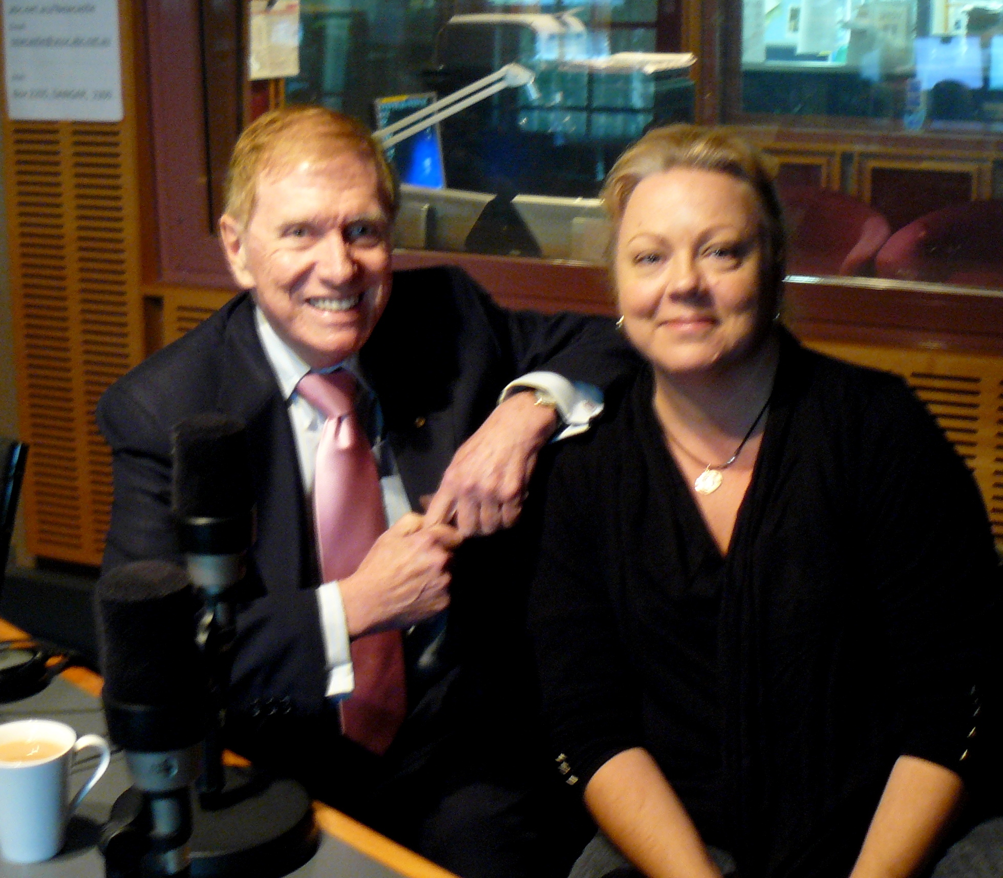 Carol Duncan - Australian broadcaster and journalist with the Hon Michael Kirby