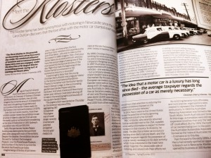Article for BMW client magazine